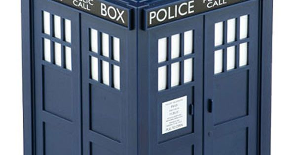 Tardis Cookie Jar Doctor Who Inspired Home Decor Doctor
