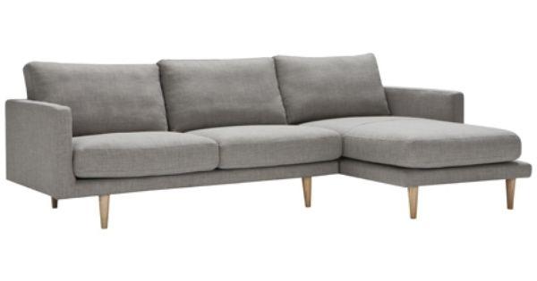freedom studio modular 2.5 seat left hand & chaise right hand ... - Angolo Chaise Whistler Grigio