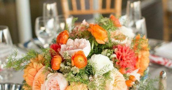 Décoration florale pour table - idées mariages en automne  Tables ...