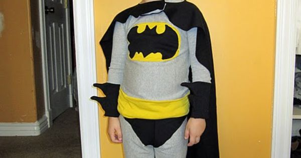 Batman costume tutorial! (@Jeannie Barnhart, @Rhonda Roetzel...I need help, please! Chris wants