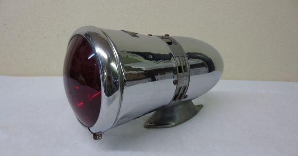 1930 S 1940 S Federal Model W 6 Volt Siren Firetruck