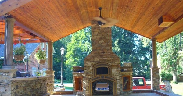 Outdoor Fireplace Pizza Oven Combination Fireplace With Pizza Oven Above Wood Burning