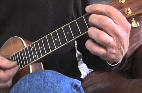 A simple blues in A using the : A7, D7, and E7 chords. The basic progression is played and ...
