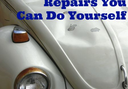 Car body repairs you can do yourself repair shop auto for Duran detail auto body