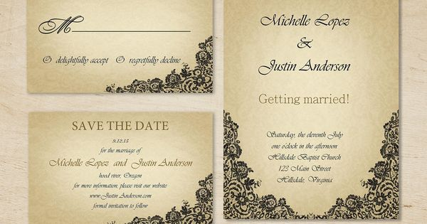 wedding templates for word