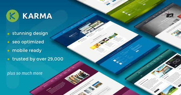 Free Nulled Karma Responsive Wordpress Theme Download Https Free4theme Com Free Nulled Karma Responsive Wordpress Theme Download