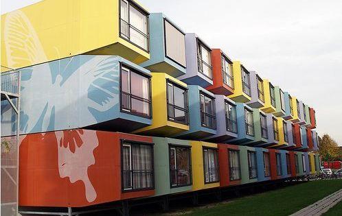 Top 5 des logements tudiants les plus insolites student house utrecht and netherlands - Bob vila shipping container homes ...