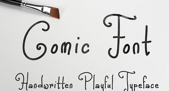 Comic Font – cute and beautiful comic style handwritten font