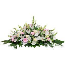 Les Fleurs Deuil Raquette Cassiopee Fleurs Obseques Fleurs
