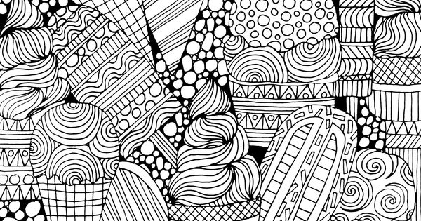 Displaying Ice Cream Coloring Page