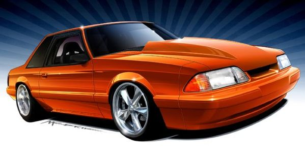 Fox Ford And Mustang Concepts Automobiles Pinterest
