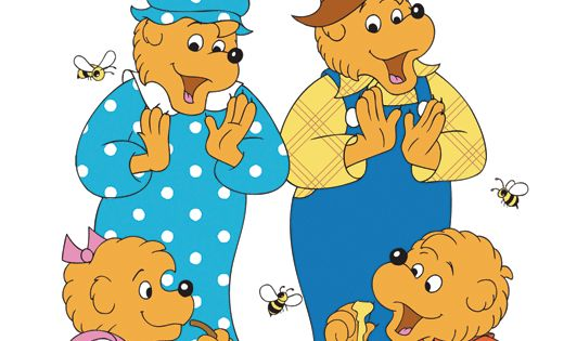 the berenstain bears tv show kiddy kitsch pinterest