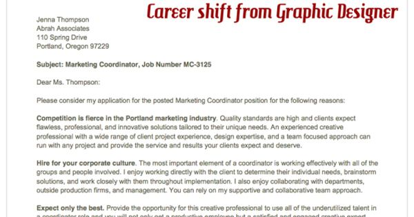 resume and cover letter example target marketing coordinator misc