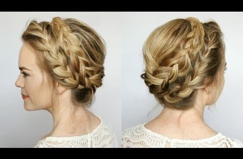how to make french hair style