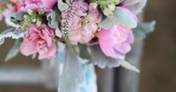 Gorgeous lush pink bouquet with peonies | Rustic Glam Country Wedding | Photograph by Lucy Munoz Photography  http://www.storyboardwedding.com/rustic-vintage-glamour-styled-country-wedding-featuring-soft-pinks-sweet-grays-spots-of-sparkle/