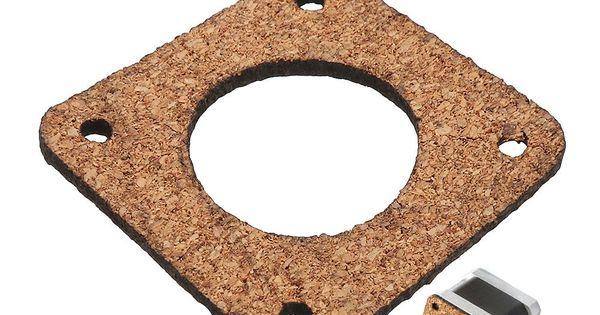 Machifit 2 3mm Cork Wood Shock Absorber Anti Vibration Motor Damper For Nema 17 42mm Stepper Motor Stepper Motor Motor Steppers