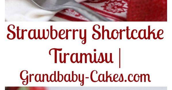 ... | Recipe | Tiramisu, Strawberry Shortcake and Mascarpone Cheese