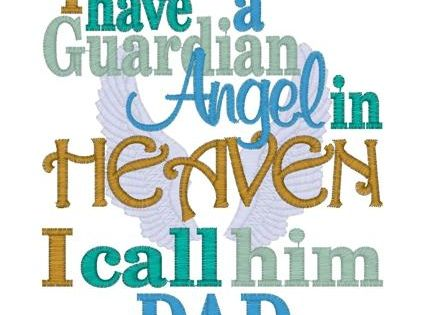 My guardian angel in Heaven, my Dad - miss you