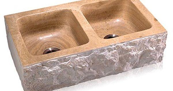 Pin On Stone Farm Sinks Kitchen Farmhouse Natural Stone Sinks