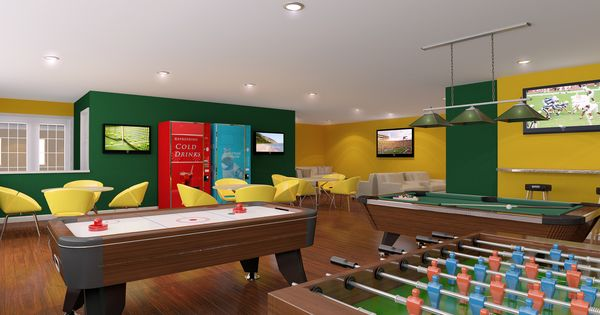 Recreation room for Kids rec room ideas