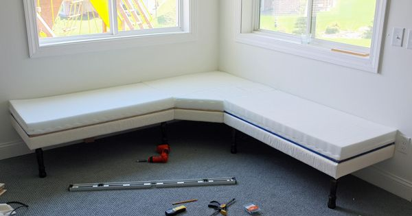 Diy Upholstered Built In Bench Part 1 Furniture Legs