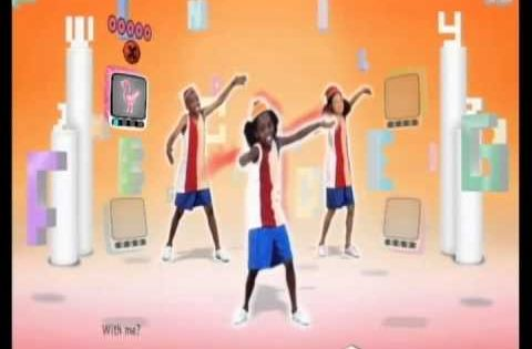 ABC Song Just Dance Kids with body movements....seems like