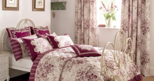 dorma red willoughby bedlinen collection dunelm. Black Bedroom Furniture Sets. Home Design Ideas
