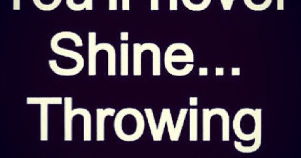 You Will NEVER Shine, Throwing Shade. Stay Positive And