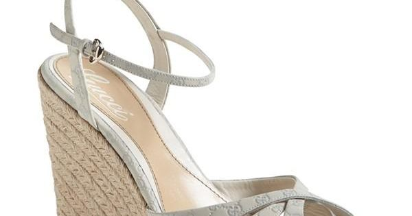 Pairing this Gucci espadrille sandal with a cute little dress on the weekend.