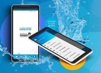 Caema Mobile Instalado Em Smartphone Com Sistema Android