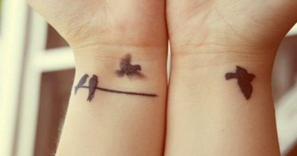Great bird tattoo idea.