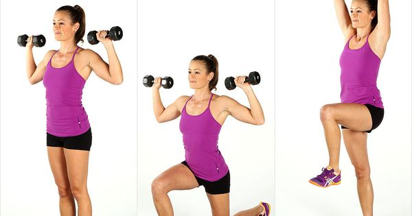 Melt Fat, Build Muscle: Dumbbell Blast Circuit Workout: Add some dumbbells to