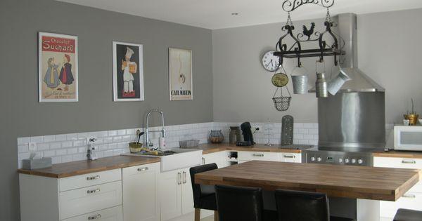 credence metro kitchen ideas pinterest photos cuisine et tables. Black Bedroom Furniture Sets. Home Design Ideas