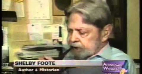 Shelby Foote On William Faulkner And The American South Shelby Foote Civil War Books William Faulkner