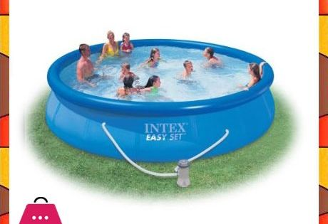 Intex Easy Set 15 Foot By 36 Inch Round Pool Set In Pakistan In 2021 Swimming Pools Easy Set Pools Inflatable Pool