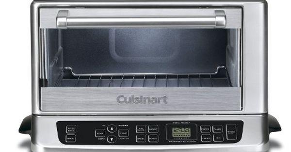 Cuisinart Tob 155 Toaster Oven Broiler Stainless Black Cuisinart Http Www Amazon Com Dp B000py Toaster Oven Reviews Cuisinart Toaster Oven Cuisinart Toaster