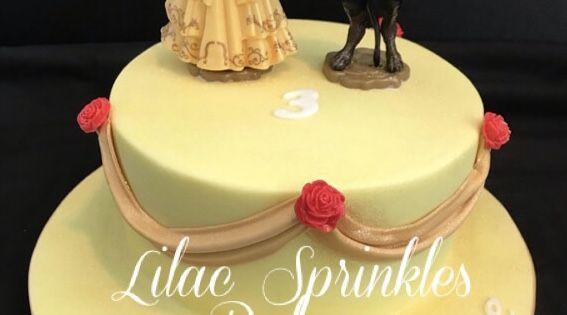 Beauty The Beast Birthday Cake Cake Celebration Cakes Birthday Cake
