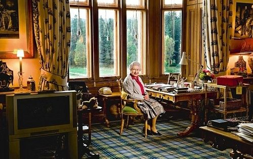 The Queen S Sitting Room Balmoral Castle Balmoral