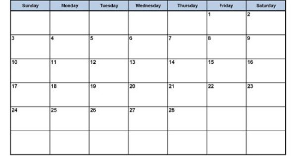 monthly calendars current year