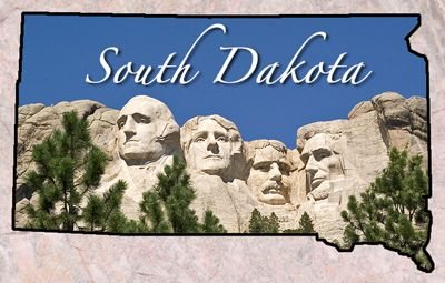 South Dakota Entered The Union November 2 1889 40 Capital