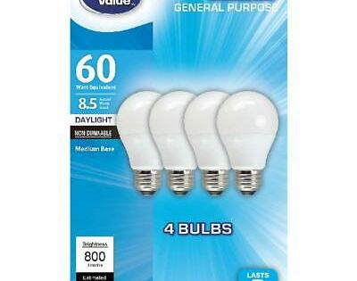 Sponsored Link Great Value Led Light Bulbs 8 5w 60w Equivalent