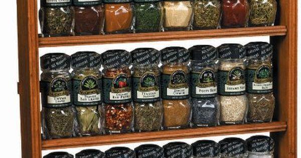 Mccormick Gourmet Spice Rack Three Tier Wood 24 Count