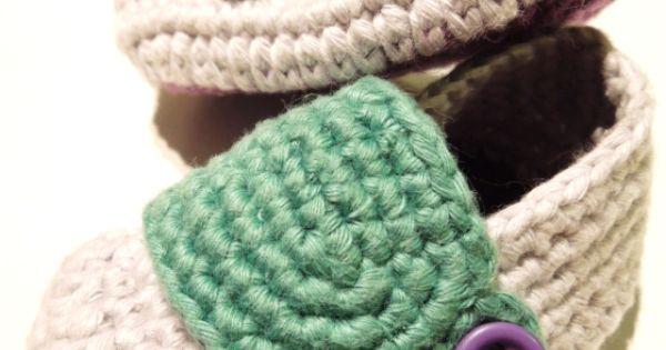 Zapatito de beb a crochet paso a paso patrones crochet - Manualidades a crochet paso a paso ...