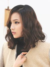 Epris Hair Studio Women S Medium Digital Perm Short Hair Short Permed Hair Digital Perm