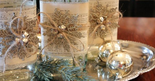 Beautiful tablescapes provide an enchanting and welcoming gathering place at holiday parties and - Interesting tables capes for christmas providing cozy gathering space ...