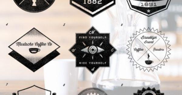 Badge logo, Badges and Vintage hipster on Pinterest