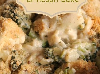 how to make chicken and broccoli bake with bread crumbs