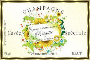 Etiquettes Gratuites Pour Bouteilles De Vin Et Champagne Etiquettes Gratuites Etiquette De Vin Personnalisee Champagne