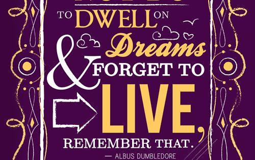 Favorite Quote by Albus Dumbledore!