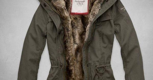NWT Abercrombie & Fitch A&F Women's Hallie Parka Jacket